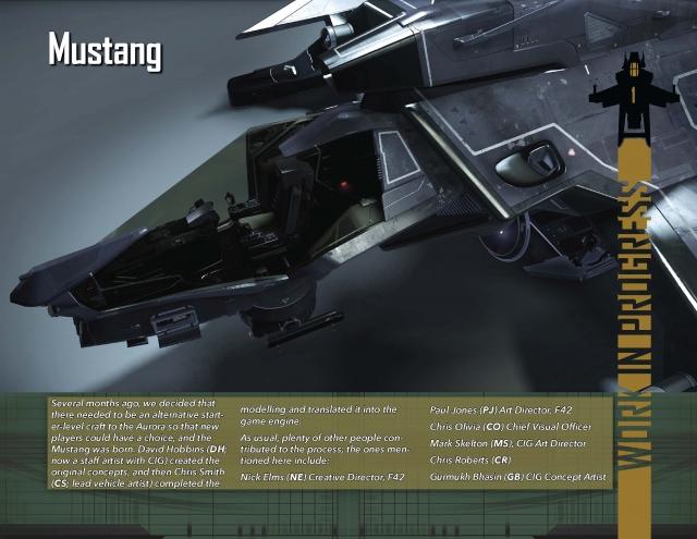 Star Citizen: В Разработке: Mustang