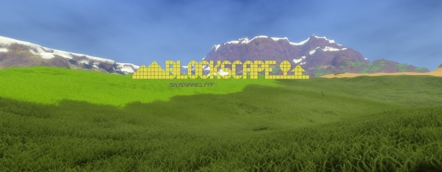 Blockscape: Блочный пейзаж на фоне штиля