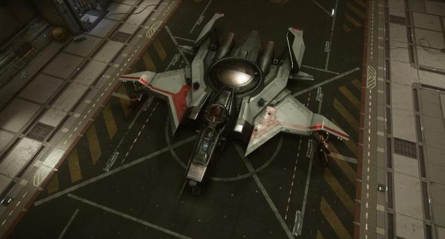 Star Citizen: Скриншоты корабля Gladiator от Anvil Aerospace в разрешении 4K