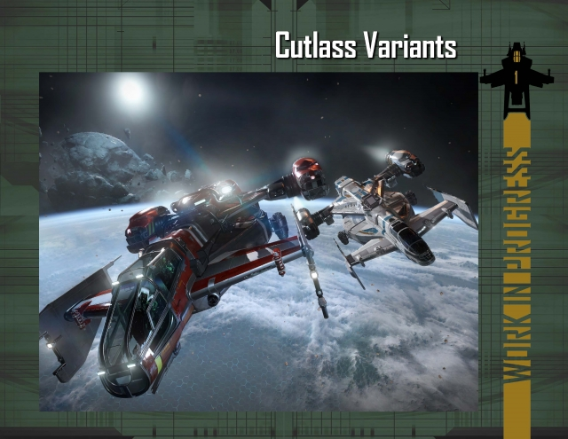 Star Citizen: В разработке: Модификации Cutlass