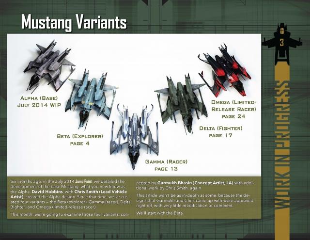 Star Citizen: В разработке: Модификации Mustang