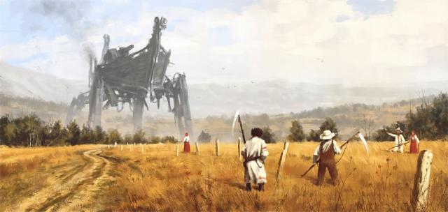 неММО: Красота больших человекоподобных роботов
