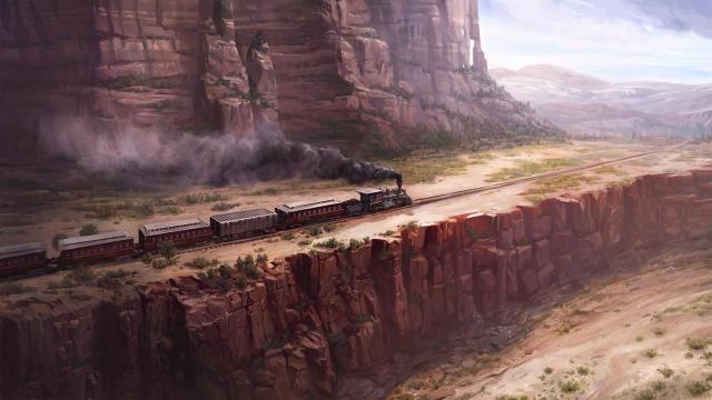 Wild West Online: Подборка концепт-артов: классические открытки Дикого Запада