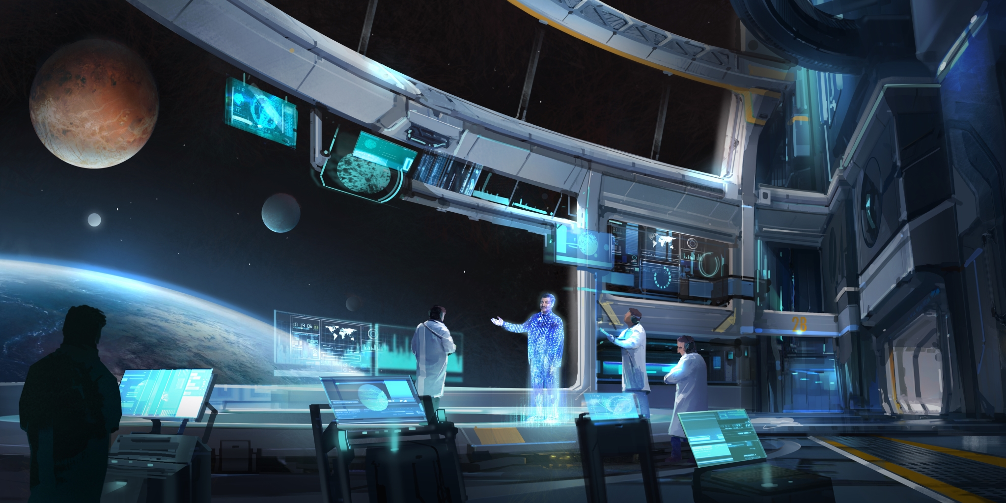 неММО: Космическая одиссея профессора Тайсона