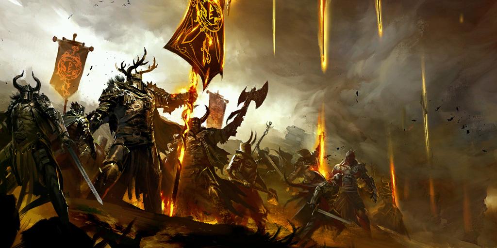 Guild Wars 2: Накал страстей на поле брани