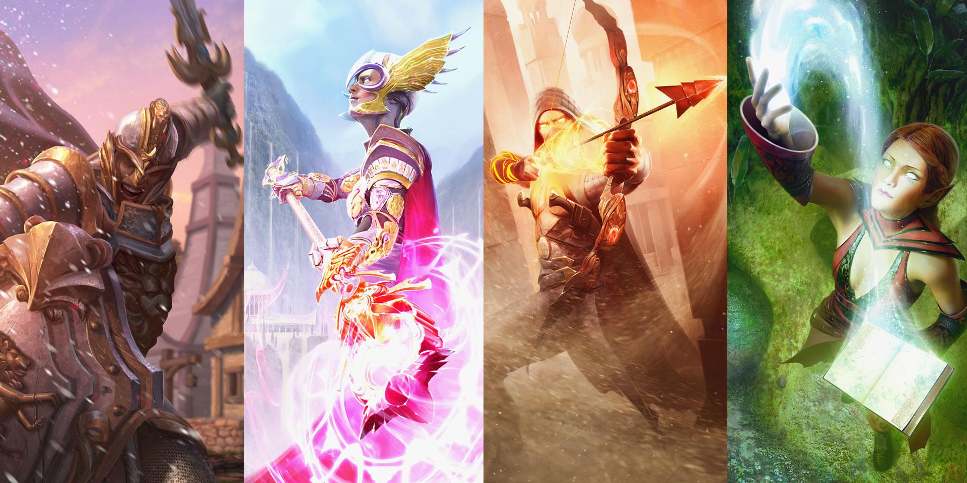 Ashes of Creation: Первые четыре архетипа