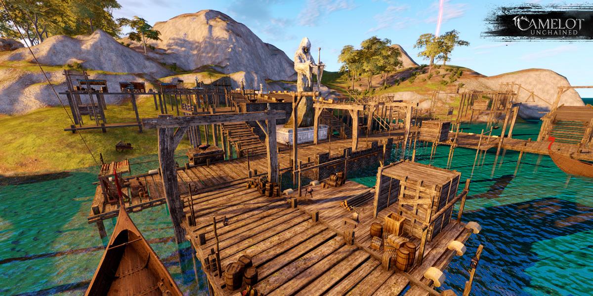Camelot Unchained: Beta 1: Начальные Зоны и Жилые Острова