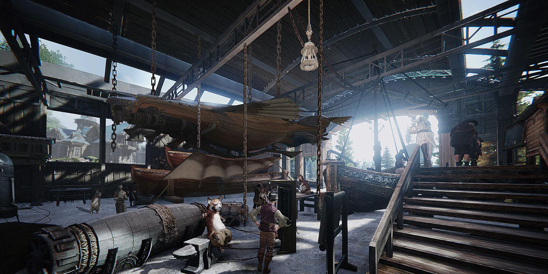 Ascent: Infinite Realm: Bluehole анонсировала новую MMO A:IR с воздушными кораблями и механоидами