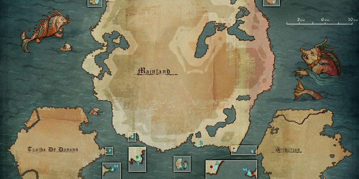 Camelot Unchained: Beta 1: Оспариваемые Острова