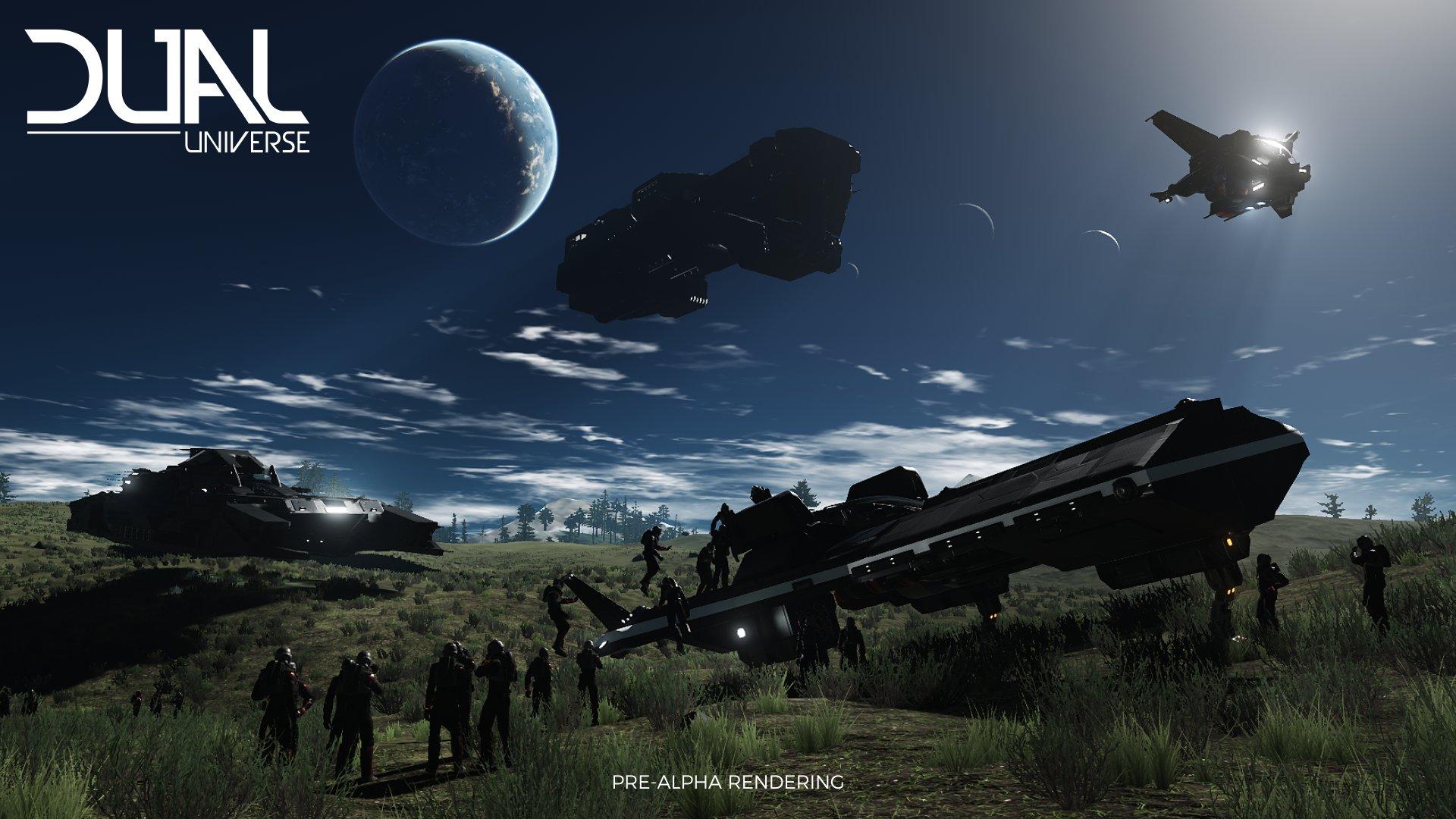 Dual Universe: Dual Universe Outpost Building Contest