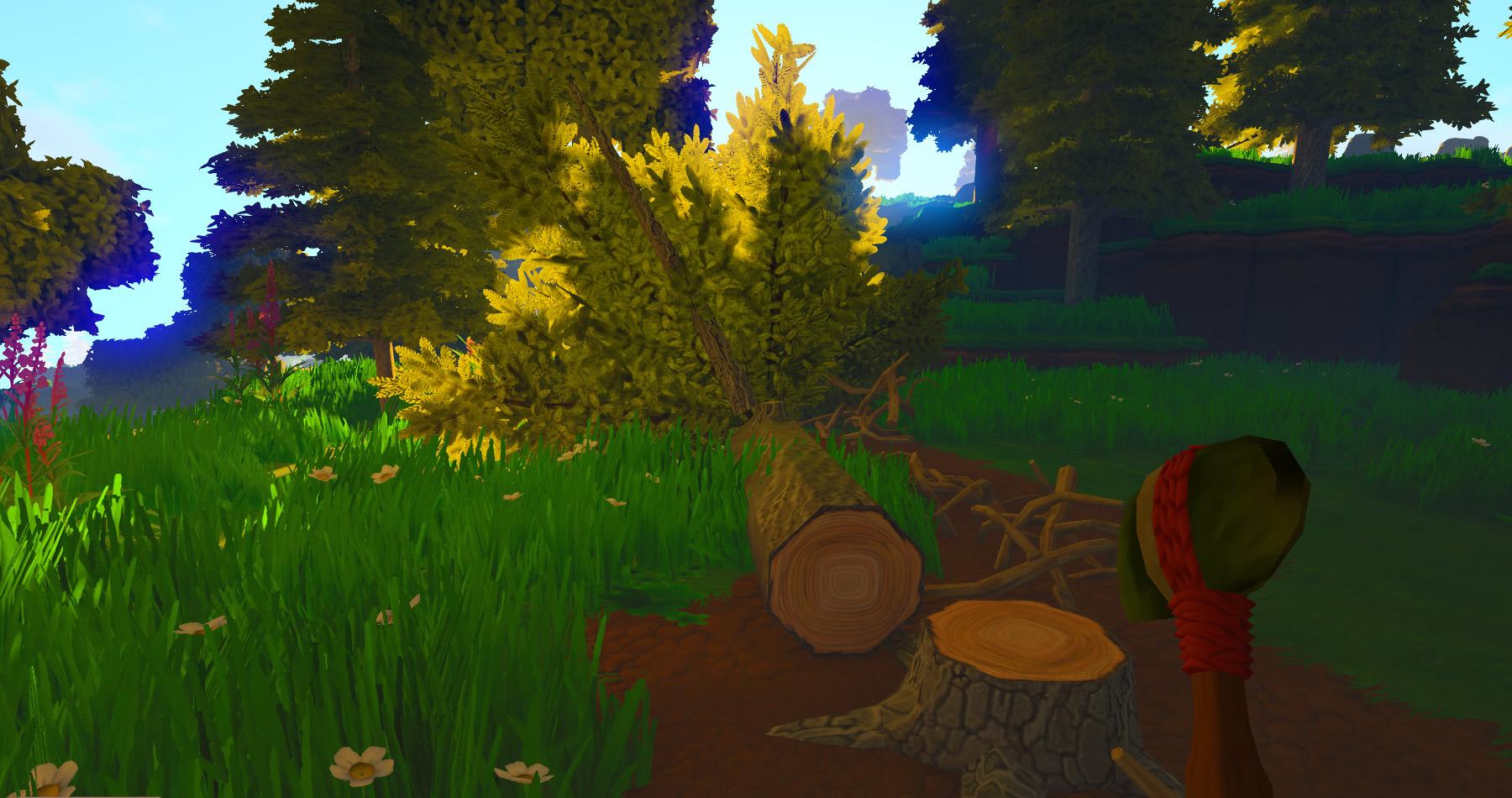Eco: Лесоруб и обидевшееся бревно