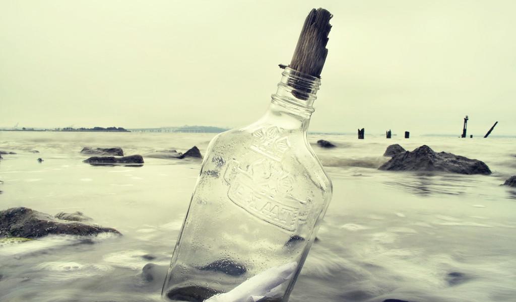 Блог им. Chiarra: Простой рецепт: найдите задание в бутылке