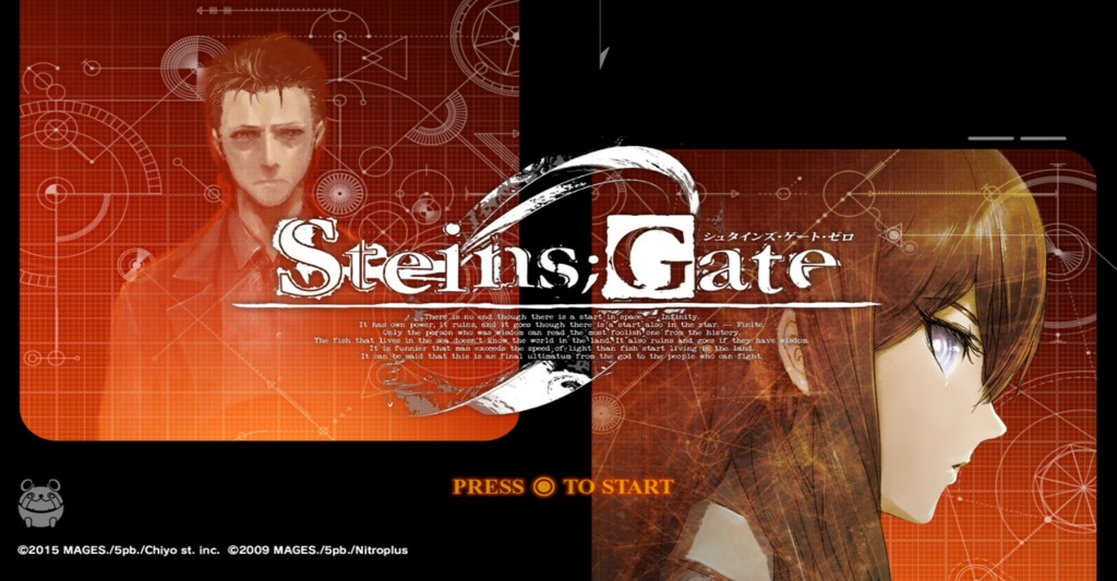 Блог им. angro: Steins;Gate 0