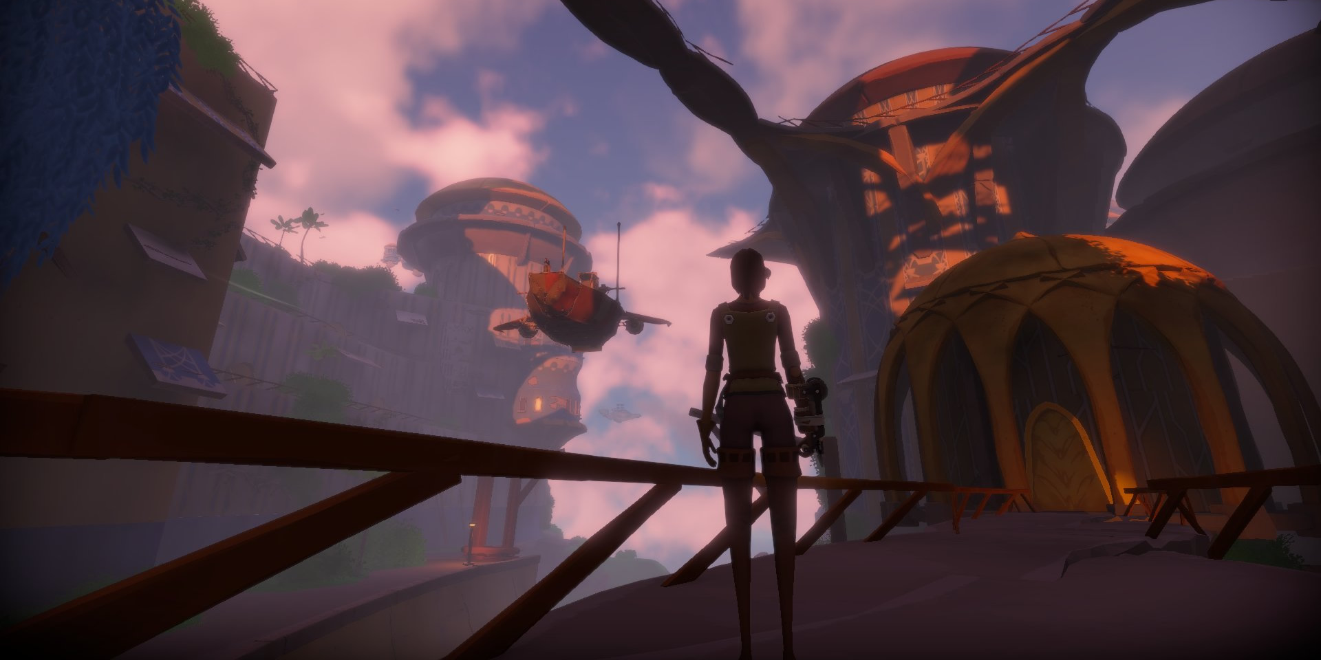 Worlds Adrift: Горизонты Worlds Adrift: Небесный Порт, торговые корабли, охота на китов и ориентирование по компасу
