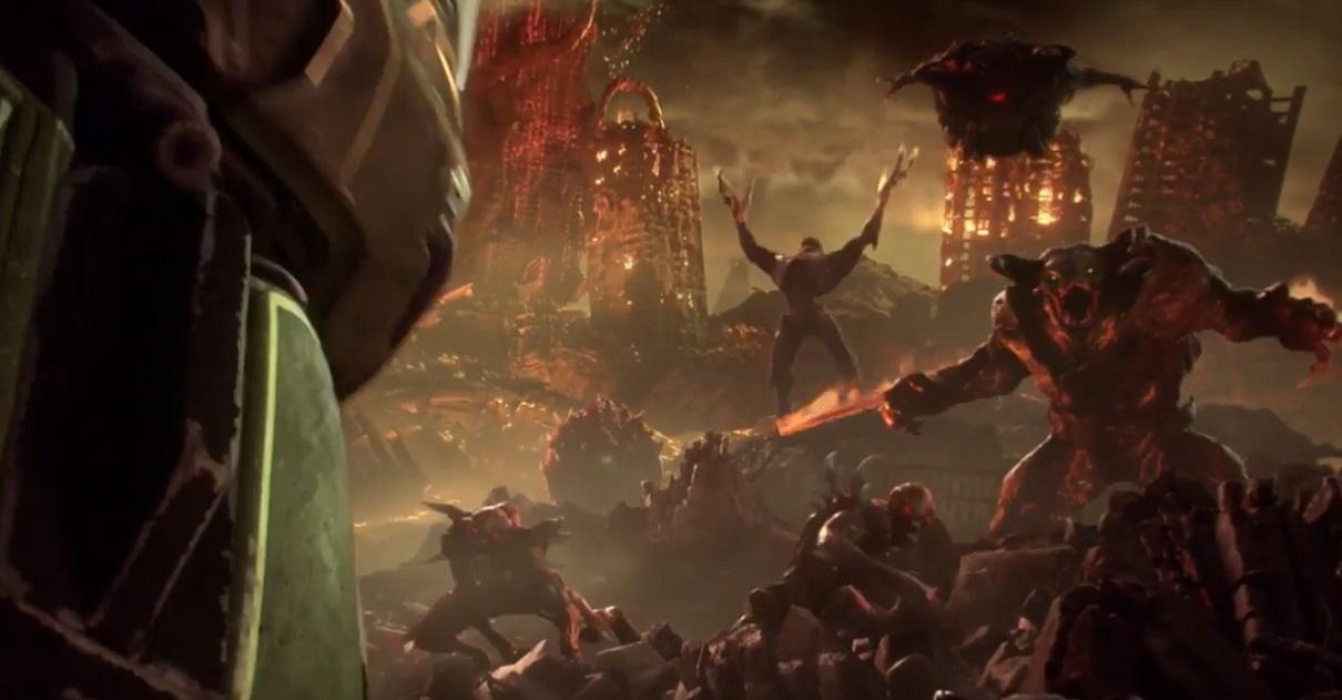 неММО: Показан геймплей DOOM: Eternal