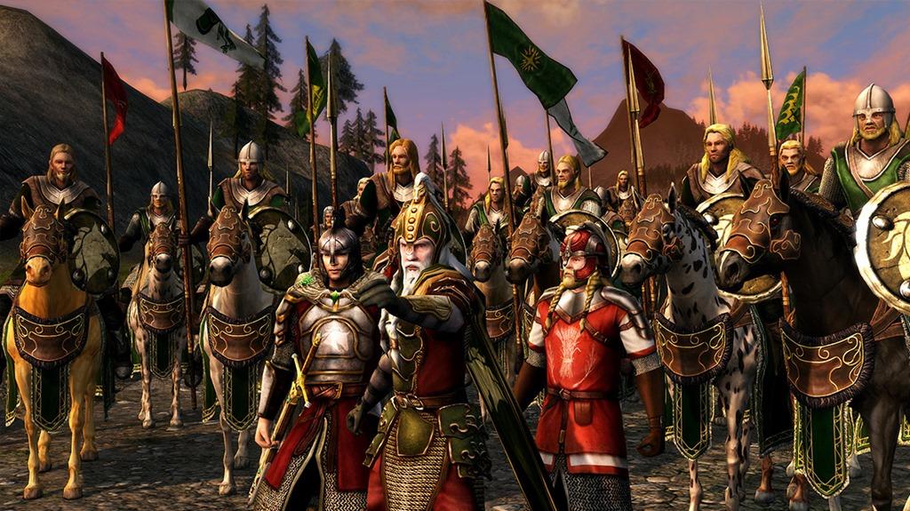 Lord of the Rings Online: Братство и групповые умения