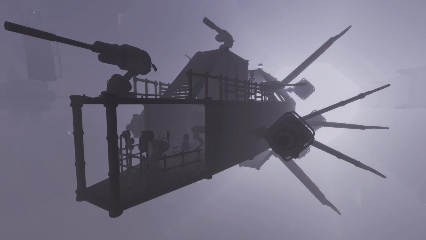Worlds Adrift: Корабли в Worlds Adrift