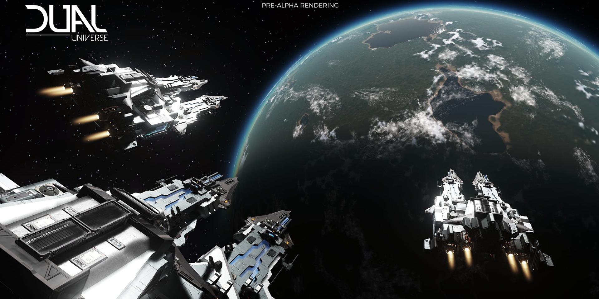 Dual Universe: 53 минуты геймплея Dual Universe