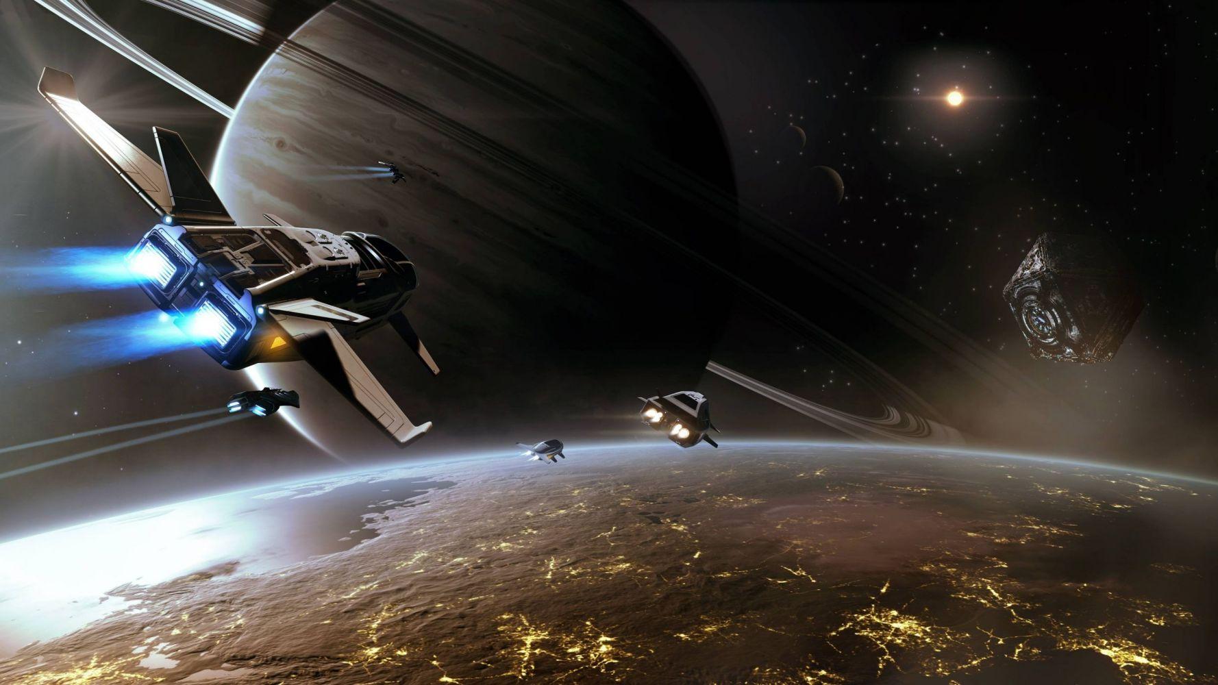 Elite: Dangerous: Путешествие к краю галактики