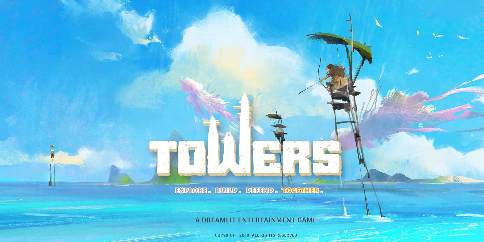 MMO-индустрия: Towers: Исследуйте. Стройте. Защищайте. Вместе