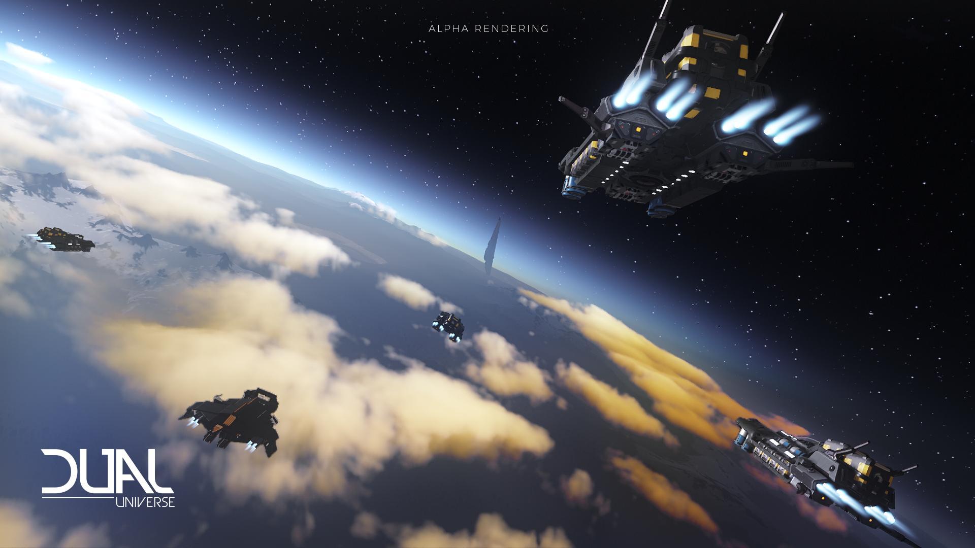 Dual Universe: 30 000 симулированных игроков в Dual Universe !