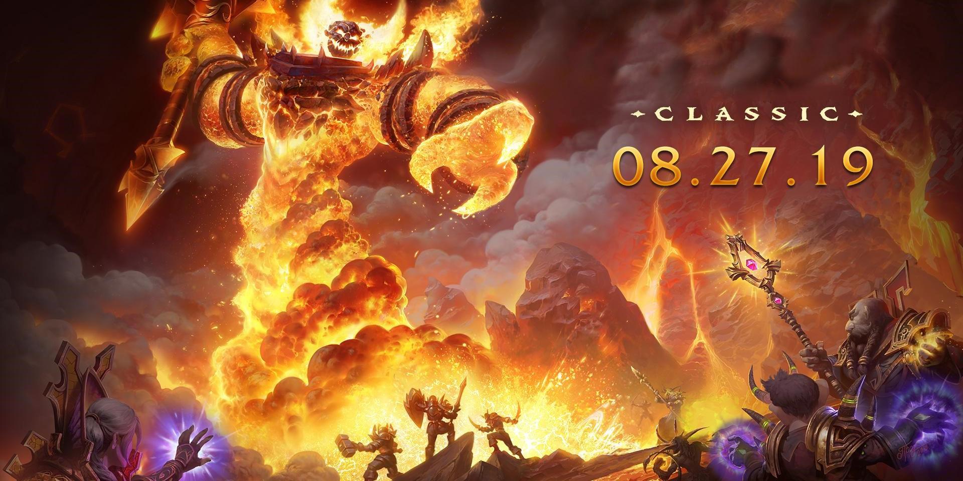 World of Warcraft: Классическая версия стартует 27 августа, а в Blizzard раздумывают о развитии классики до Wrath of the Lich King