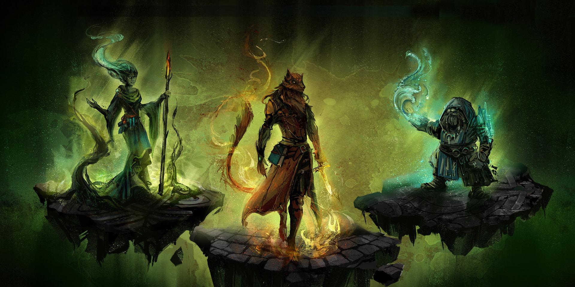 Camelot Unchained: Магия Расколотого Камелота в деталях: Druid, Flame Warden, Wave Weaver