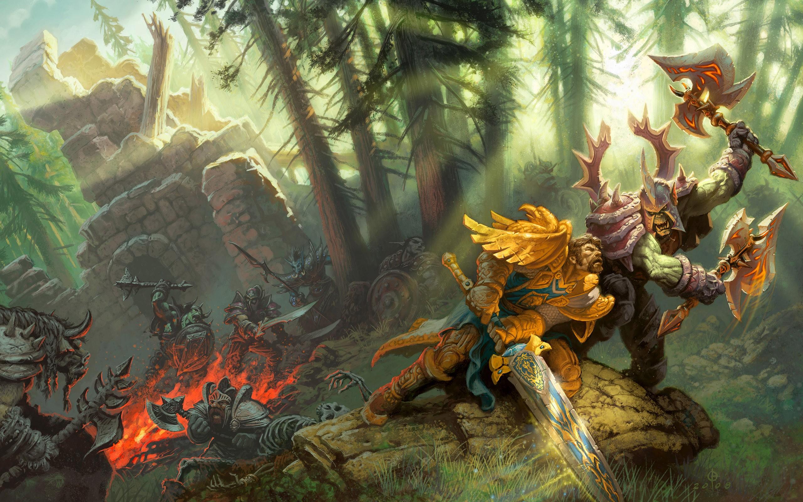 World of Warcraft: Размышления о феномене Варкрафта
