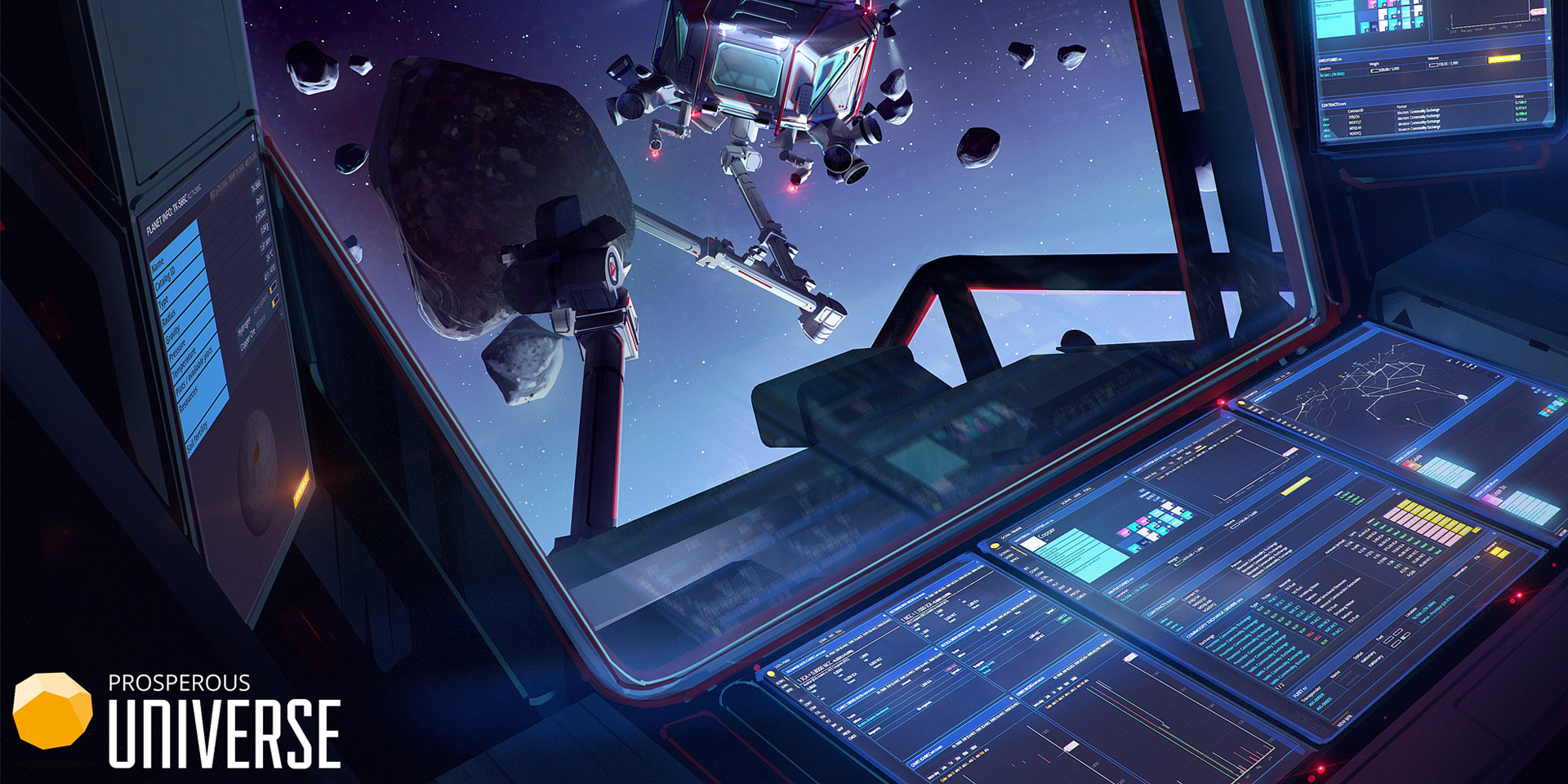 Браузерные Игры: Открыт демонстрационный режим в Prosperous Universe