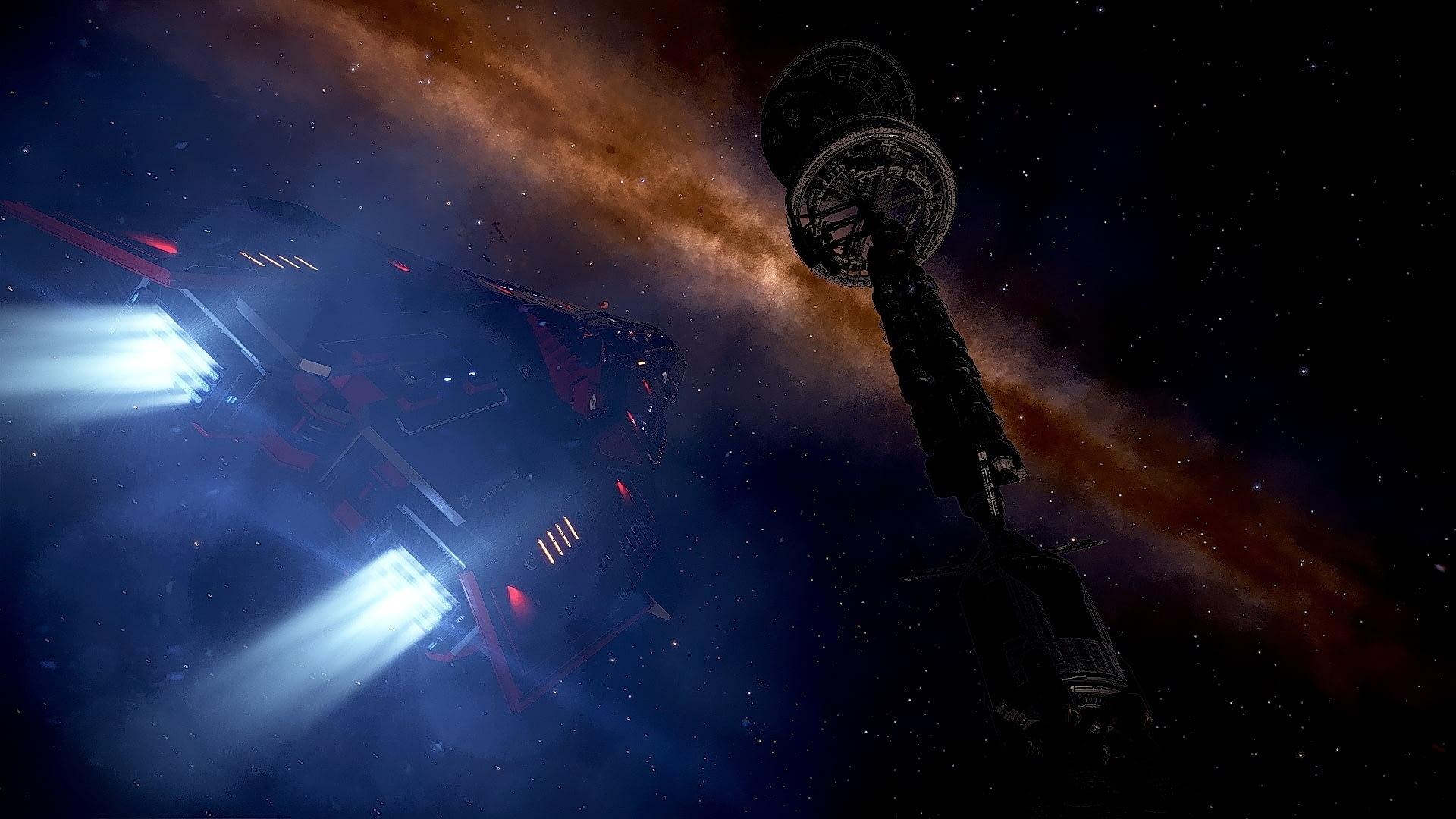 Elite: Dangerous: Затерянные корабли поколений в Elite: Dangerous