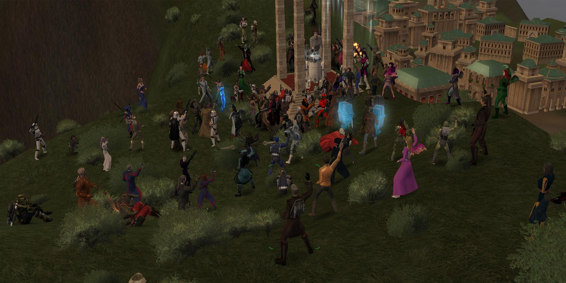 Мне только спросить: Какое самое запоминающееся событие с участием людей было в вашей MMO-истории?