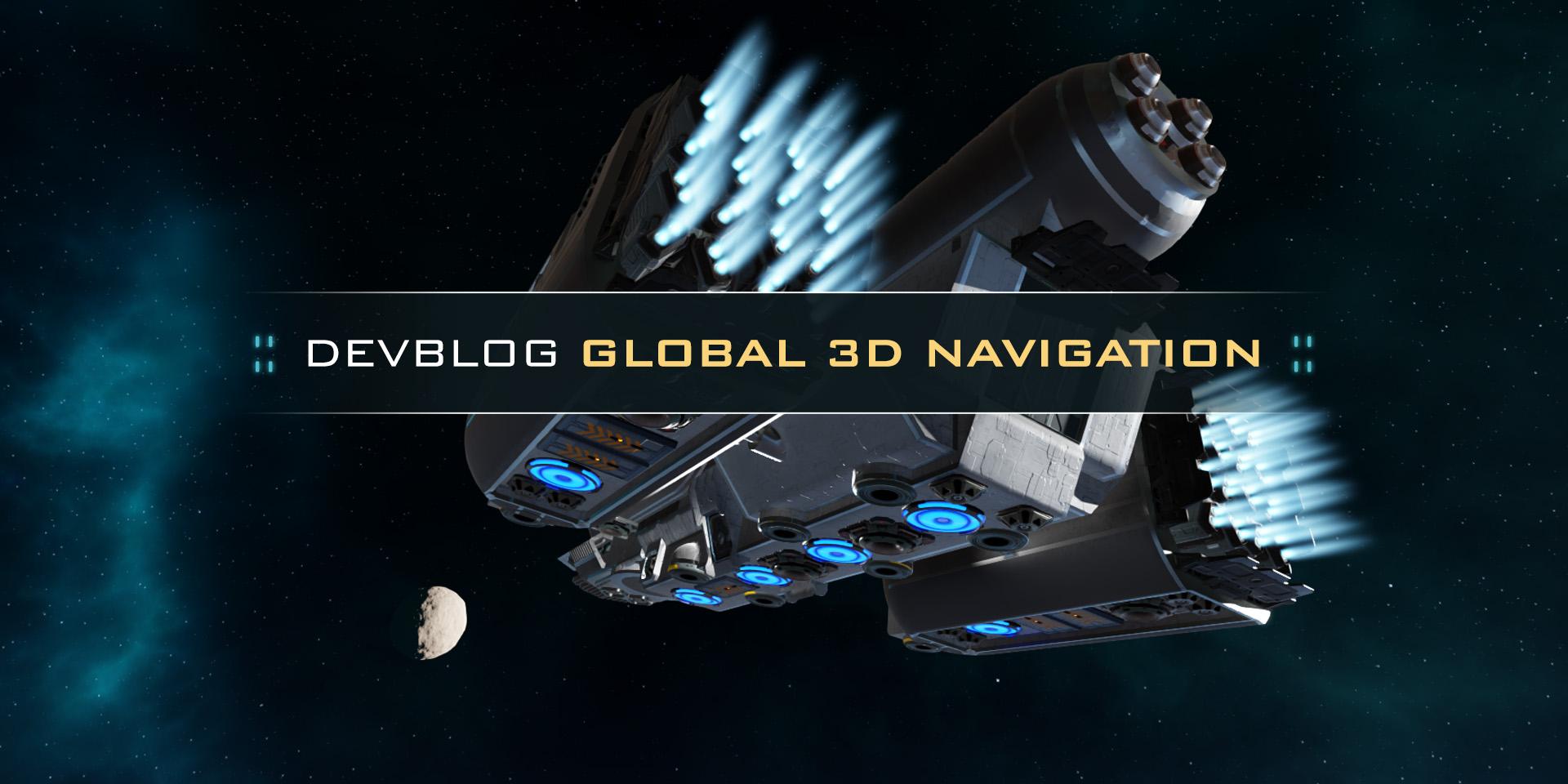 Dual Universe: Девблог: Глобальная навигация