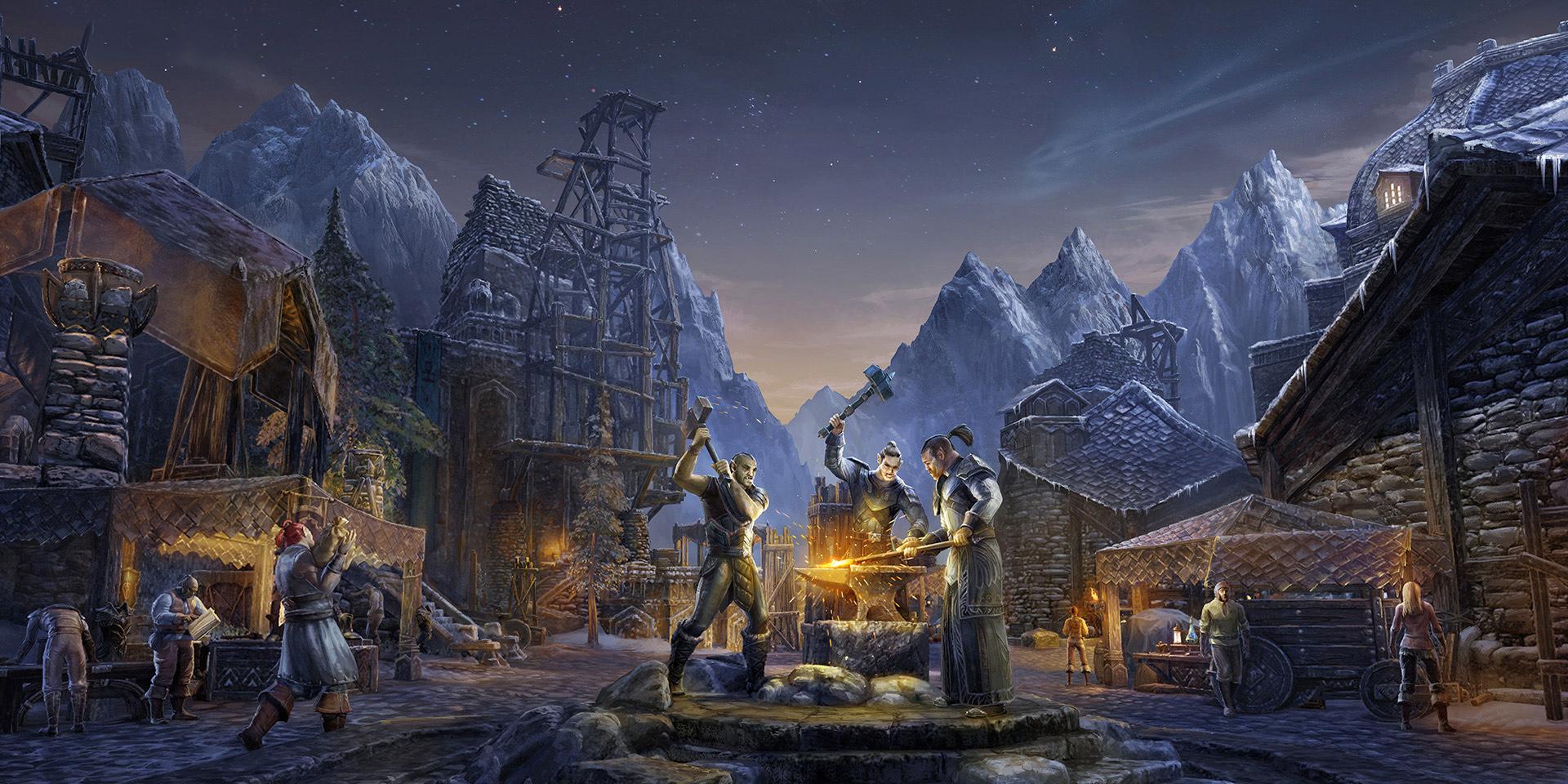 The Elder Scrolls Online: Место ремесленника и чувство