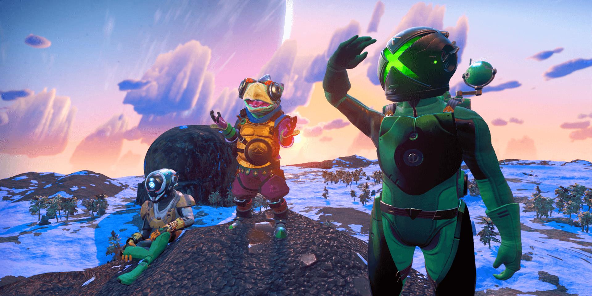 No Man's Sky: Общая вселенная для всех игровых платформ
