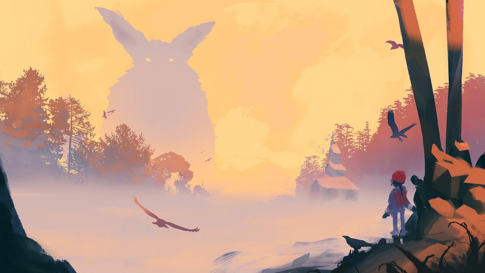 неММО: Röki: мир троллей, Йольского котэ и деревьев с глазами
