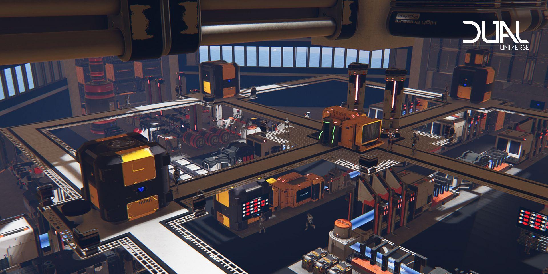 Dual Universe: Индустриальный ребаланс и проблемы с массовым производством