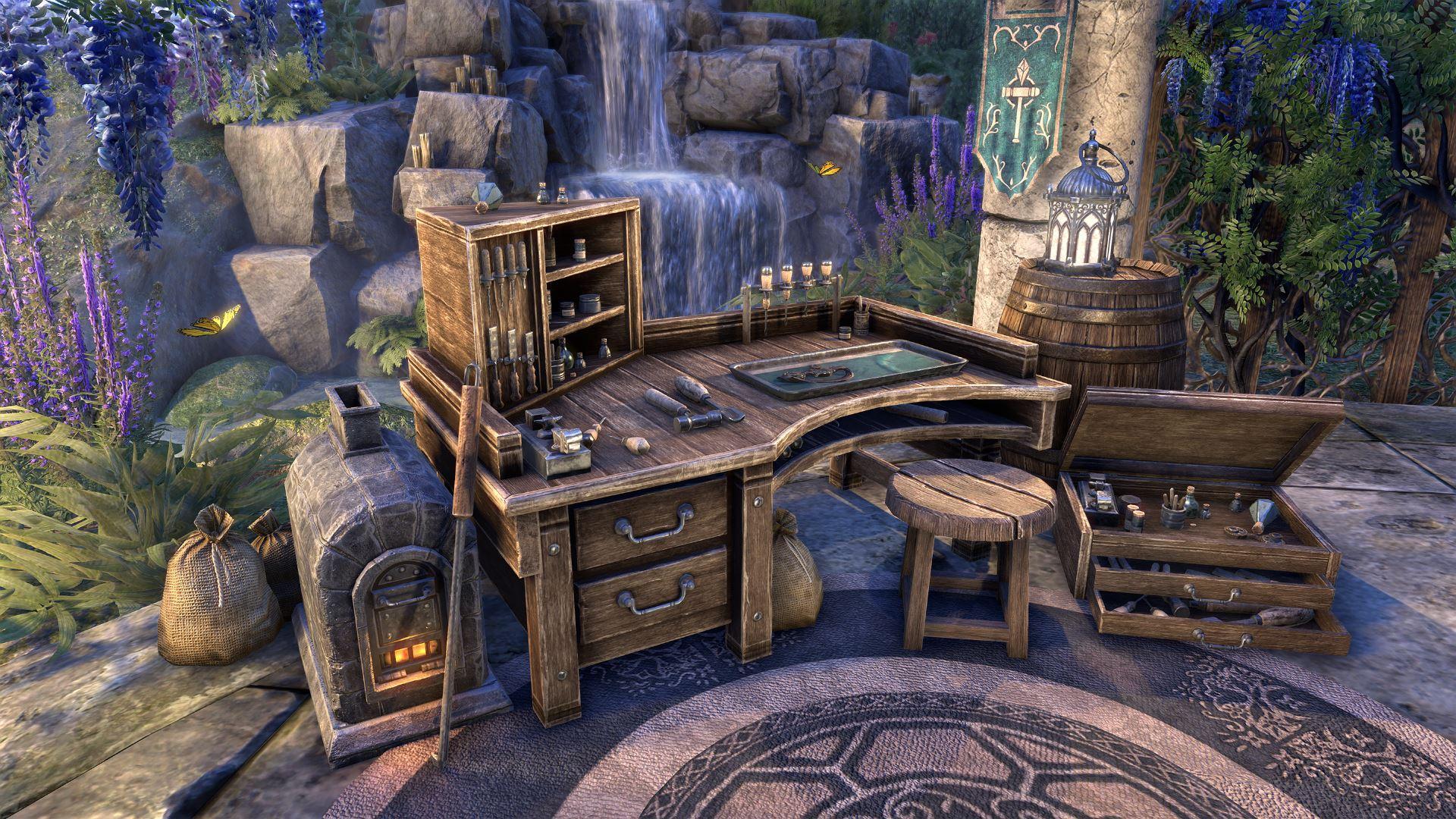 The Elder Scrolls Online: Лирика и проза крафта Elder Scrolls Online