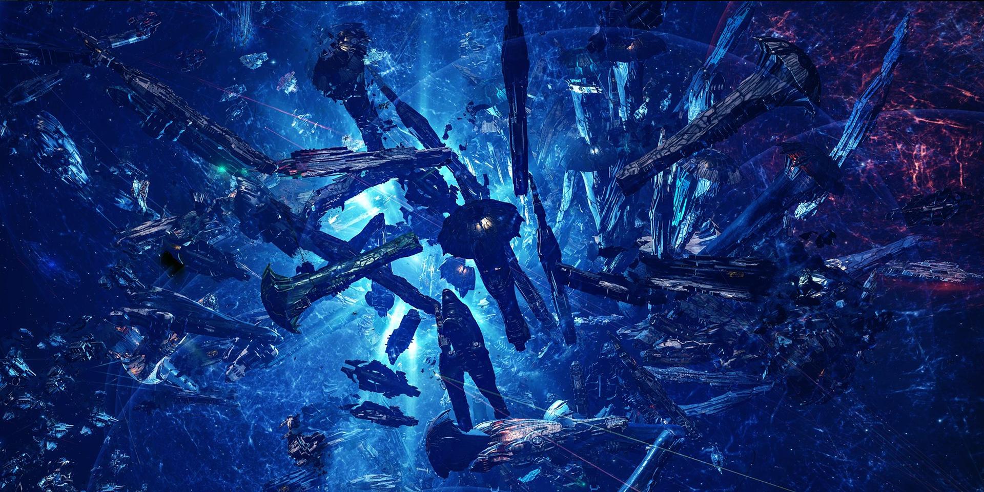 EVE Online: 252 титана уничтожено в битве за систему M2-XFE