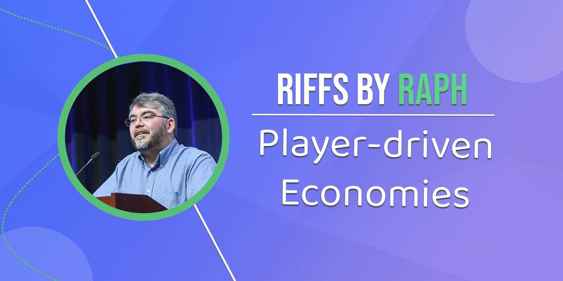 MMO-индустрия: Раф Костер рассуждает о настоящей экономике под управлением игроков