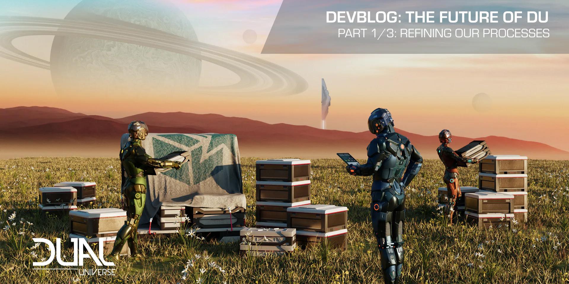 Dual Universe: Девблог: Будущее DU, часть первая