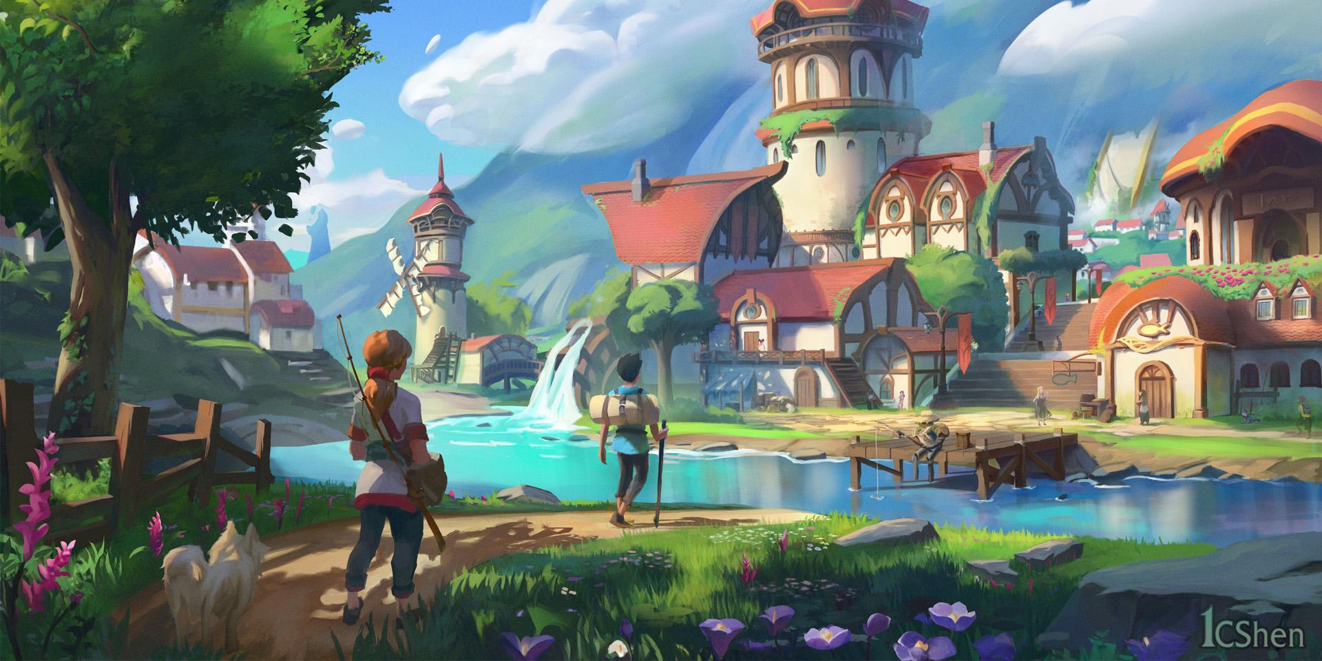 MMO-индустрия: Palia не говорит, но показывает, Camelot Unchained торопится, а в EVE заявили, что могут обойтись без замедления времени
